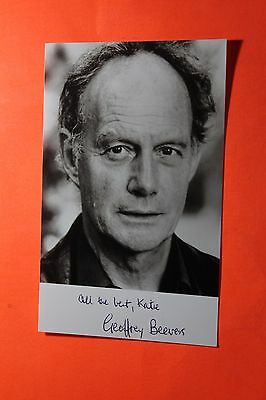 Geoffrey Beevers (Doctor Who) Signed Photo