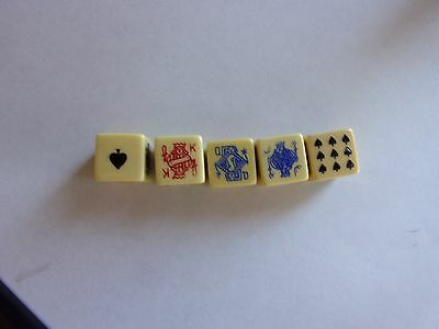 Poker Dice Boxed
