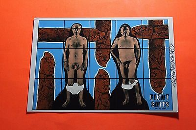 Gilbert & George (Artists - The Pictures) Signed PR Card