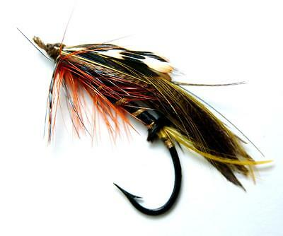 Vintage Gut Eyed Fully Dressed Salmon Fly Size 3/0                             0