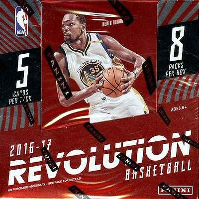 2016/17 Panini Revolution Basketball Hobby Box Blowout Cards