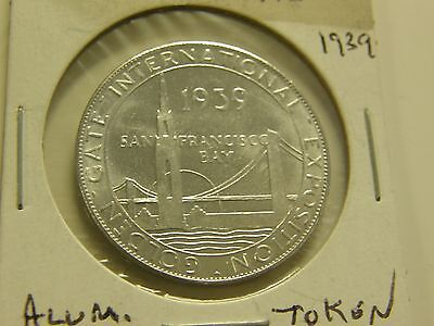 1939 Golden Gate Bridge Union Pacific Token
