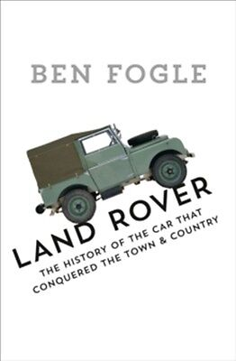 Land Rover The Story of the Car That Conquered the World book paper