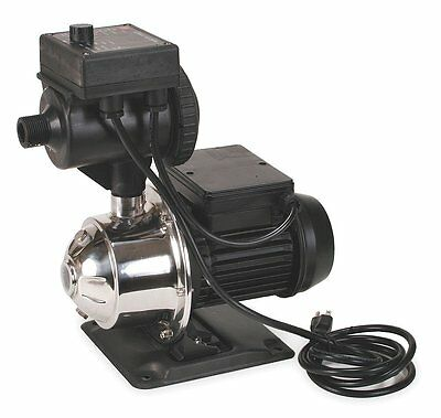 Booster Pump, Stainless Steel, 1 HP