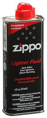 Zippo 4 oz. Lighter Fluid New Free Shipping
