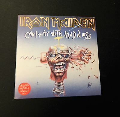 "Iron Maiden - Can Iplay With Madness- Vinyl 7"" Single - 1988 - Emi ‎– Em 49"