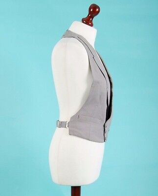 Vintage grey dress waistcoat by Austin Reed of Regent Street. Chest 40.