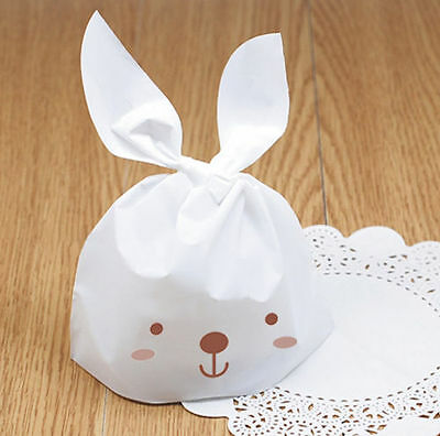 20 x Easter Sweets Gifts Presentation Bags-Bunny Long Ears Rabbit Party Bags-New