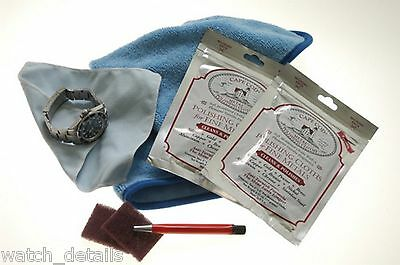 Watch Scratch Removal Watch Care Refinishing Kit for Rolex President Watch