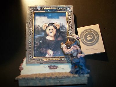 Boyds Bears 1997 Lighted Picture Frame 27301
