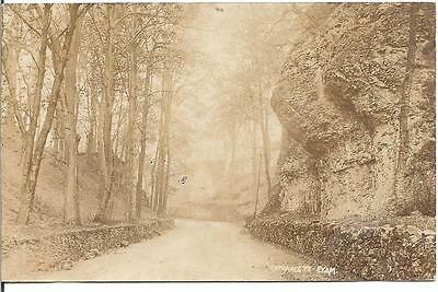 Lovely Early Vintage Postcard,entrance To Eyam,derbyshire,rp
