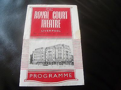 the royal court theatre liverpool  19/5/1947 life with father