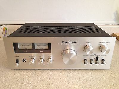 Vintage Kenwood Stereo Integrated Amplifier Model KA-5700