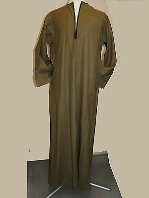 Suburb Arabic Robe in 100% Olive Colour Wool