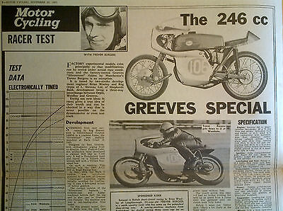 1965 Greeves Silverstone,MX Vic Eastwood 440 BSA Jeff Smith,250 Cotton,Bill Ivy