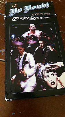 No Doubt Live in the Tragic Kingdom Live in Concert on VHS!! GUC