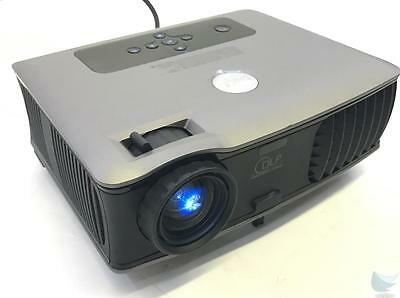 Dell 2400MP DLP Digital Multimedia Projector 0 Lamp Hours TESTED & WORKING