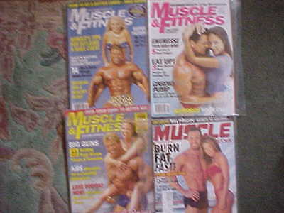 Bodybuilding Muscle Weider Muscle &fitness 15 Copies