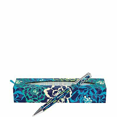 Vera Bradley Ball Point Pen in Katalina Blues