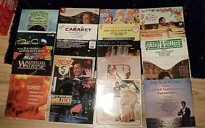 job lot x 20 orchestral classical vinyl lp's (lot 2 )
