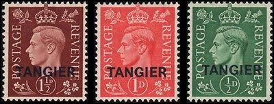 Great Britain-Offices in Morocco #515-517 set MH VF