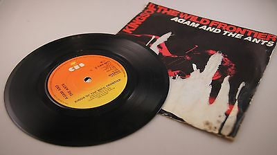 """KINGS OF THE WILD FRONTIER by ADAM AND THE ANTS vinyl 7"""""""