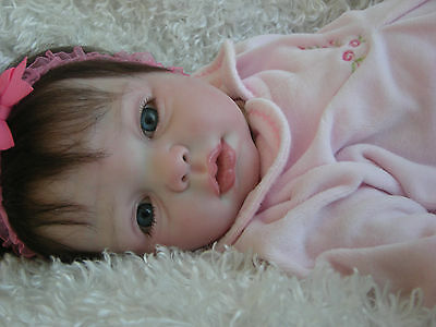 "Reborn Baby ""Gracie"" by Donna Rubert; now Beautiful baby ""Gabriella"""