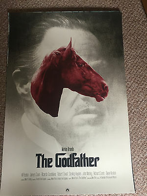 THE GODFATHER Poster Print SET by GREG RUTH not Mondo Prvt Commission
