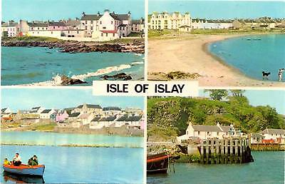 Isle of Islay - Multiview - Scotland - Postcard