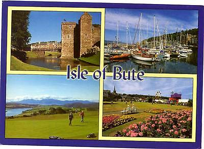 Isle of Bute - Scotland - Multiview - Postcard 2011