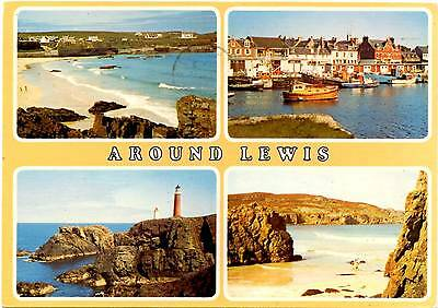 Isle of Lewis - Hebrides - Scotland - Multiview - Postcard 1984
