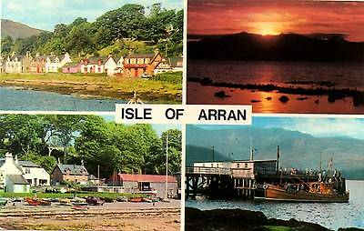 Isle of Arran - Scotland - Postcard 1981