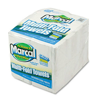 Marcal Embossed Paper Towels Multifold White 250/Pack 6729