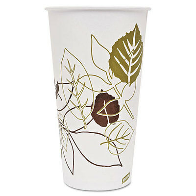 Dixie Pathways Polycoated Paper Cold Cups 32 Ounces 600/Carton 328PPATH