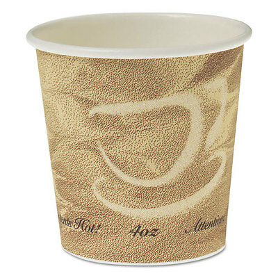 SOLO Single Sided Poly Paper Hot Cups 4 OZ Mistique design 374MS