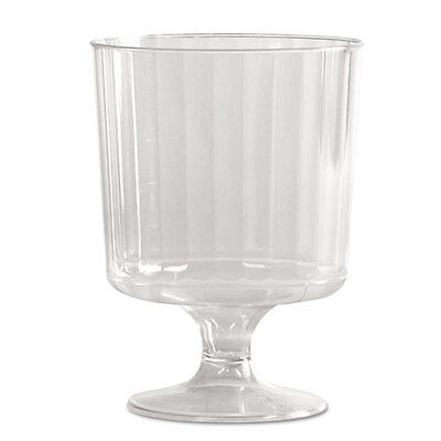 WNA Classic Crystal Stemware 8 oz Cold Clear Pedestal Wine Glass 240/Carton