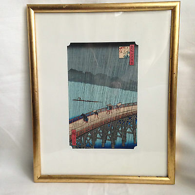 print landscape from famous scenes from Edo by Hiroshige Utagawa