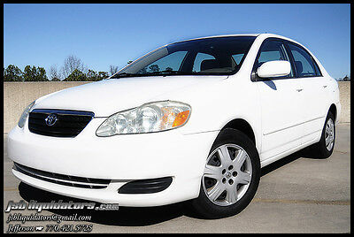 2005 Toyota Corolla LE Sedan 4-Door 05 1-Owner Up To 41MPG 0-Accidents Cruise Airbags CD A/C Spare Low Reserve!!!