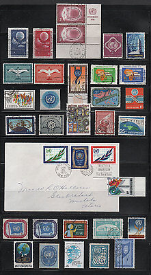 United Nations, Used Stamp Assortment