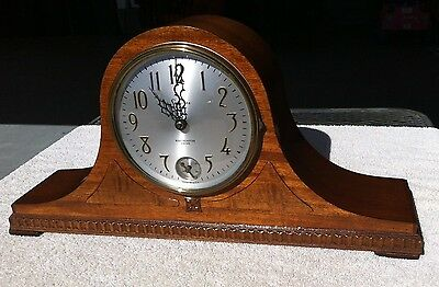 1930's Antique Sessions Mantel Clock Westminster Chimes Working-Its ELECTRIC