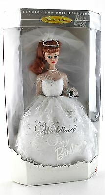 New MATTEL Wedding Day Collector Edition 12 In Barbie Doll