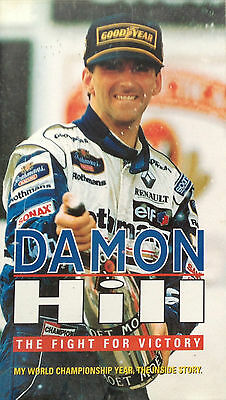 Damon Hill - The Fight For Victory - Vhs Video