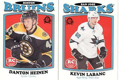 2016-17 Upper Deck Serie 2  O Pee Chee Update Retro Rookie Lot Labanc Heinen