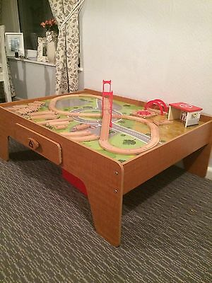 Elc Train Play Table With Train Track