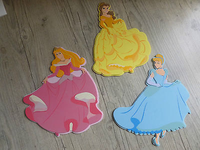Stickers mousse pour déco murale- princesses Disney *3