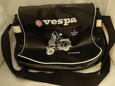 Eric Brockway Vespa An Illustrated History Messenger Laptop Shoulder Bag