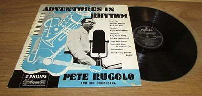 Pete Rugolo 1957 UK Ohilips LP Adventures in rythhm