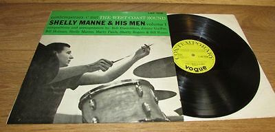Shelley Manne & his men Vol 1 1956 UK Contemorary Vogue LP