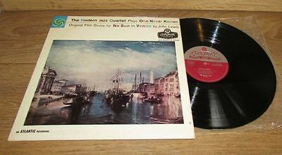 The Modern Jazz Quartet 1959 UK atlantic LP One never knows