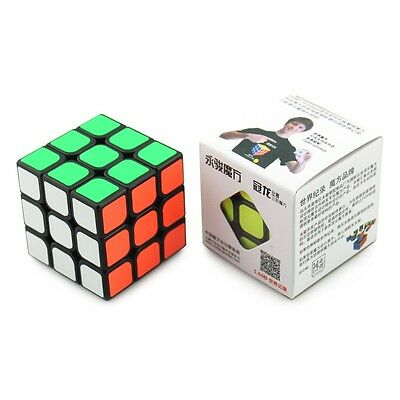 MoYu Guanlong 3x3 Black Cube Puzzle - New - In UK  Speedcube